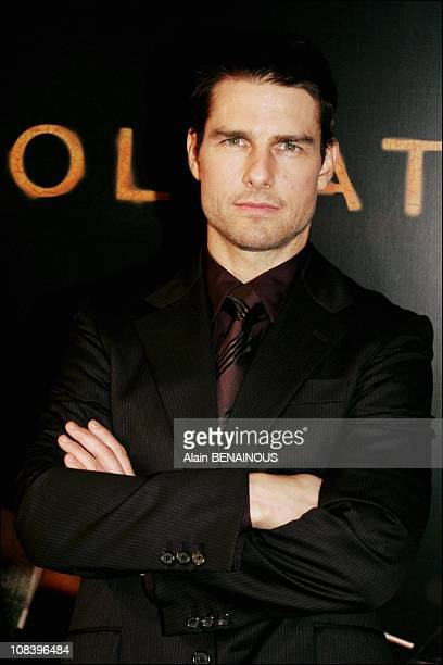 Tom Cruise in Paris France on August 30 2004