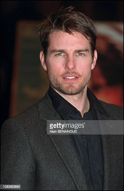 Tom Cruise in Paris France on January 22 2002