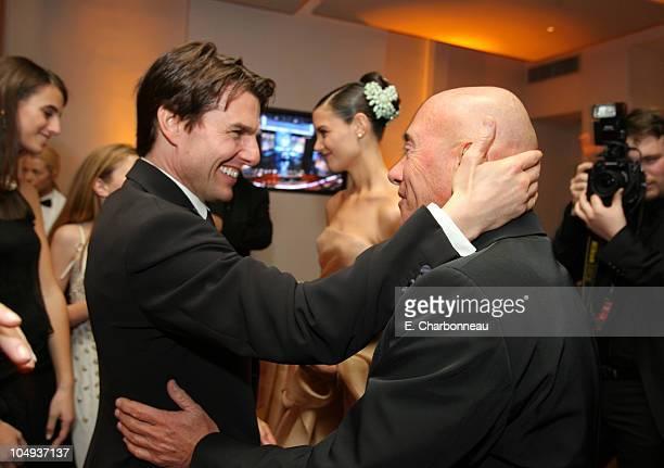 Tom Cruise, Katie Holmes and David Geffen