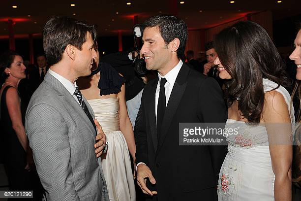 Tom Cruise Katie Holmes Michael Govan and Katherine Ross attend LACMA Opening Celebration of the Broad Contemporary Art Museum BCAM Inside at LACMA...