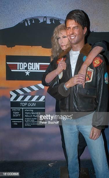 Tom Cruise Kelly Mc Gillis Film 'Top Gun' Wax Museum Wachsfigur Los Angeles LA Kalifornien Californien USA Amerika Nordamerika Reise Hollywood...