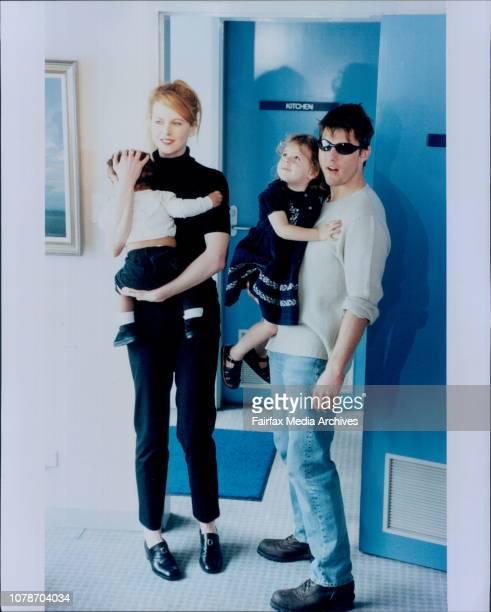 Tom Cruise Nicole Kidman amp Children January 24 1996