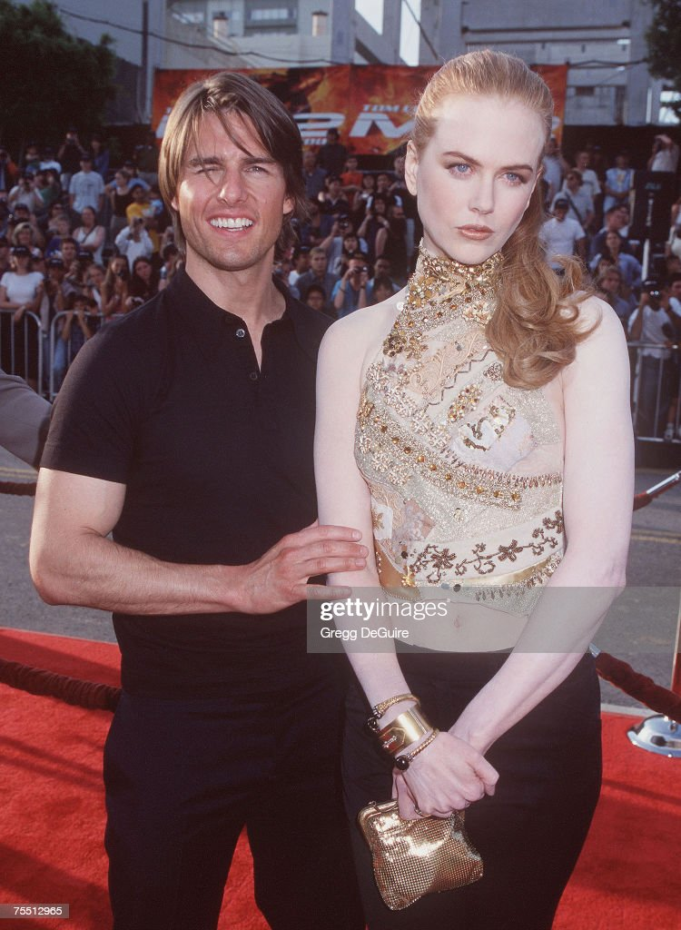 Tom Cruise Nicole Kidman At The Mann Chinese Theatre In Hollywood