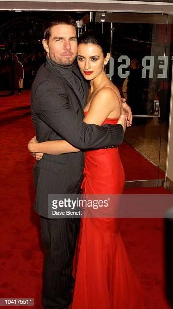 Tom Cruise Penelope Cruz 'The Last Samurai' Film Premiere