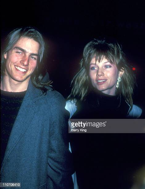 Tom Cruise Rebecca DeMornay during The Breakfast Club Premiere at Directors Guild of America in Los Angeles California United States