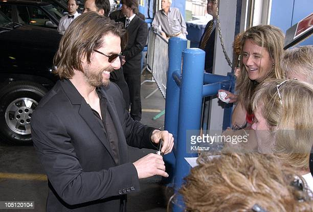 Tom Cruise sign autographs to fans. During MENTOR-National Mentoring Partnership Excellence in Mentoring Awards at Pier 60 Chelsea Piers in New York...