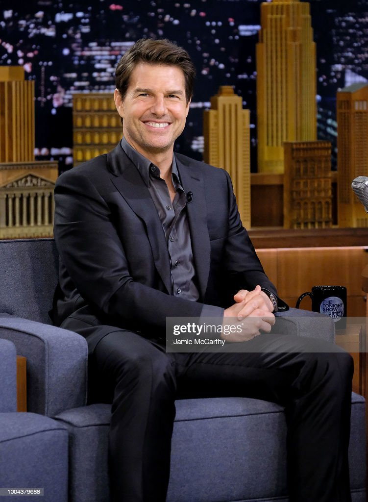 "Tom Cruise And Parker Posey Visit ""The Tonight Show Starring Jimmy Fallon"""