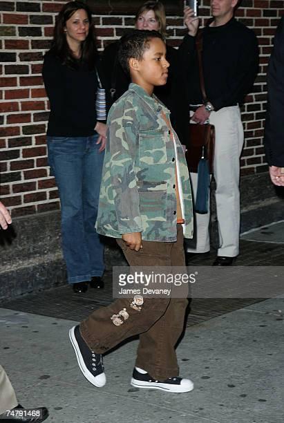 Tom Cruise's son Connor at the Ed Sullivan Theatre in New York City New York