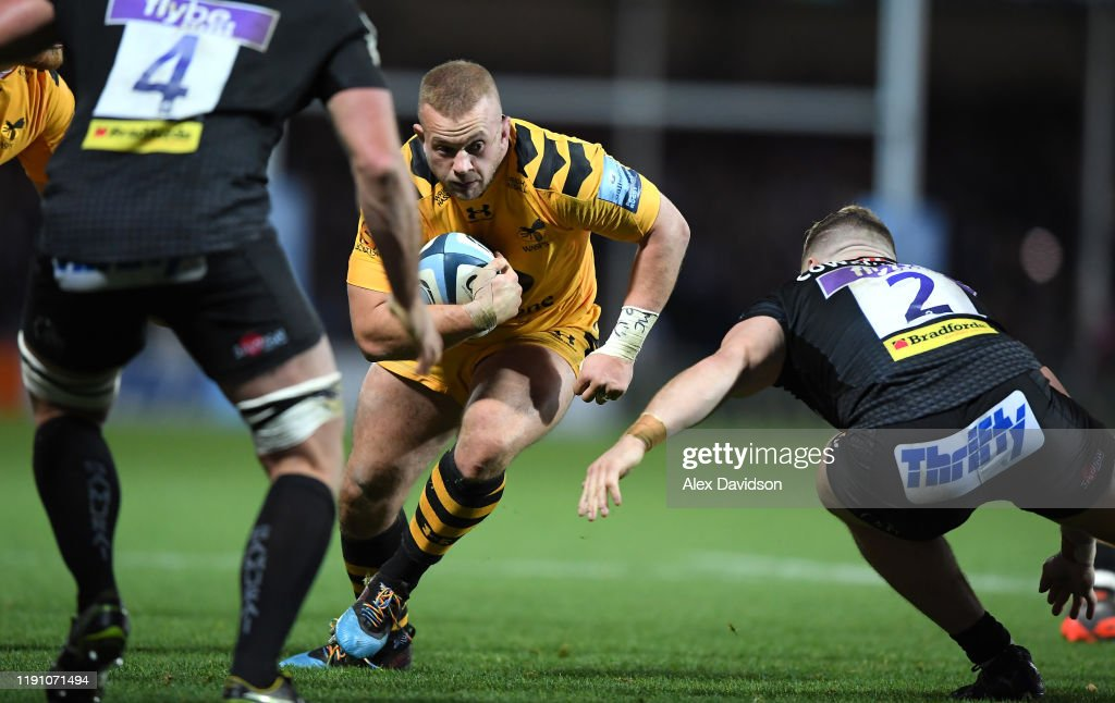 Exeter Chiefs v Wasps - Gallagher Premiership Rugby : News Photo