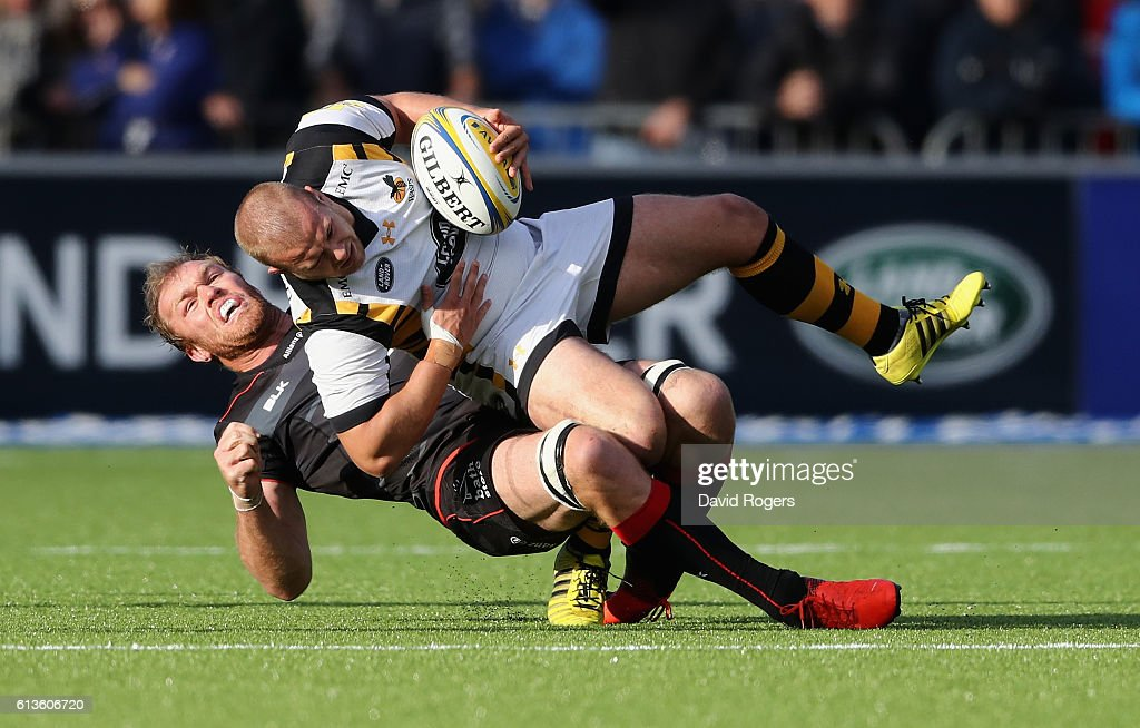 Saracens v Wasps - Aviva Premiership : News Photo