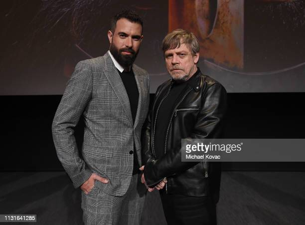 Tom Cullen and Mark Hamill attend the Knightfall For Your Consideration Event in Los Angeles on March 19 2019 in Los Angeles California