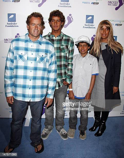 Tom Curren arrives at The Surfrider Foundation's 25th Anniversary Gala at the California Science Center's Wallis Annenberg Building on October 9 2009...