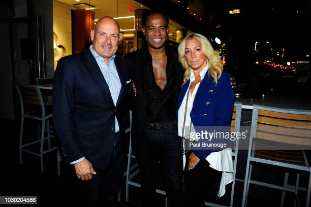 Tom D'Agostino Frederick Anderson and Anna Rothschild attend Fashion Week Party To Celebrate Frederick Anderson Spring 2019 Collection at Bice on...