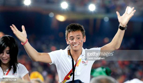 Tom Daily at the closing ceremony of the Summer Olympic Games in Beijing China 24th August 2008.
