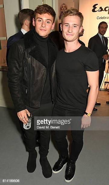 Tom Daley and Jack Laugher attend the launch of the Esquire Townhouse with Dior on October 12 2016 in London England