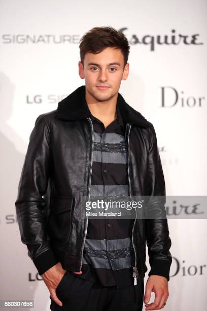 Tom Daley attends the Esquire Townhouse with Dior party at No 11 Carlton House Terrace on October 11 2017 in London England