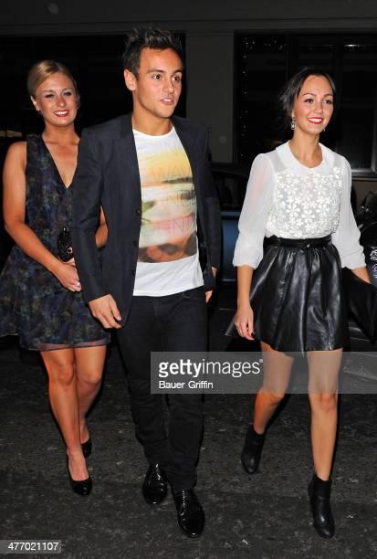 Tom Daley is seen on November 30 2012 in London United Kingdom
