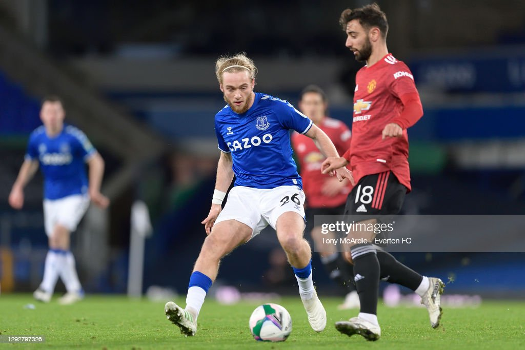 Everton v Manchester United - Carabao Cup Quarter Final : News Photo