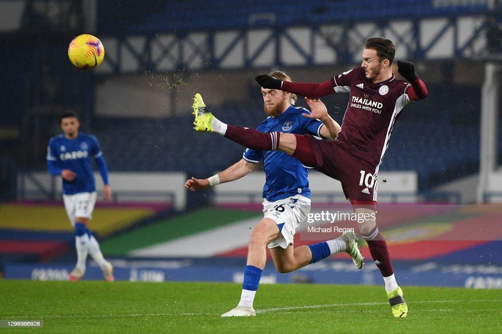 Everton v Leicester City - Premier League : News Photo