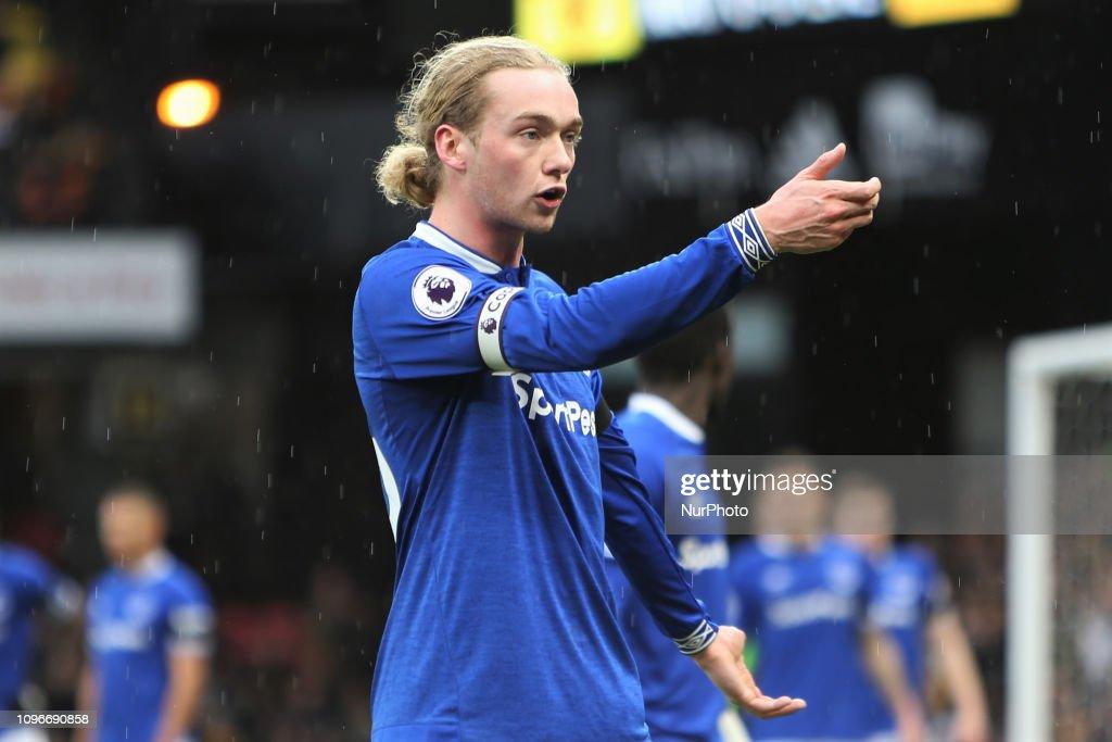 Watford FC v Everton FC - Premier League : News Photo