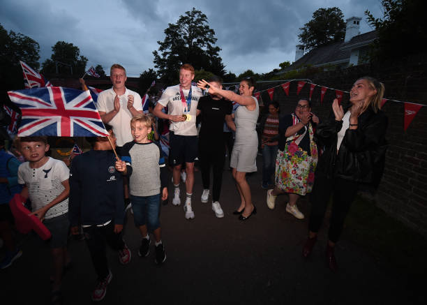 GBR: Tom Dean And Speedo Homecoming