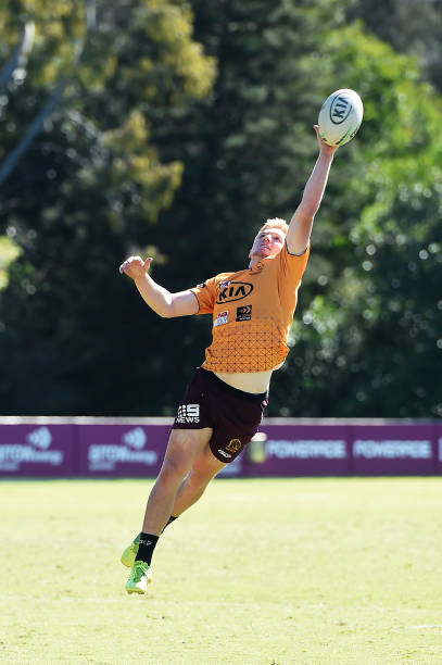 AUS: Brisbane Broncos Training Session