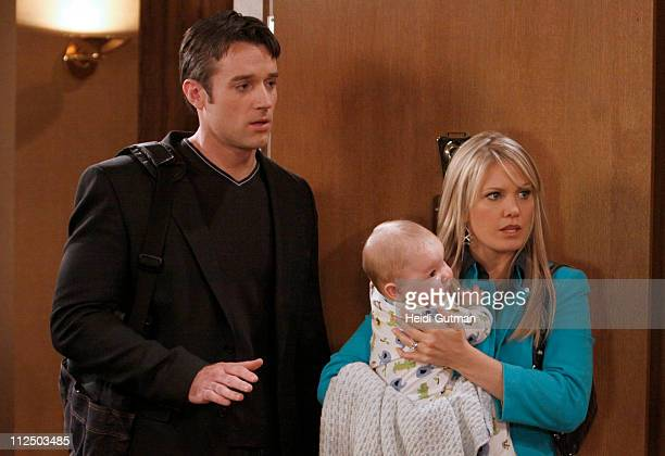 LIVE Tom Degnan Matthew/Nicholas Urbanowicz and Terri Conn in a scene that begins airing the week of May 2 2011 on Walt Disney Television via Getty...