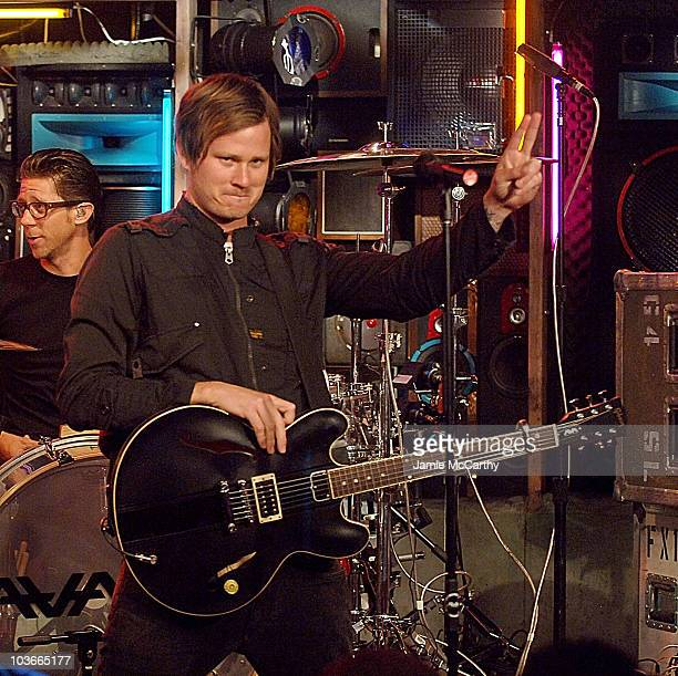Tom Delong of Angels and Airwaves Visits fuse's 'The Sauce at Fuse Studios in New York October 42007