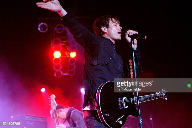 Tom DeLonge and Angels and Airwaves perform as part of Live 105's Not So Silent Night 2007 at the Bill Graham Civic Auditorium in San Francisco
