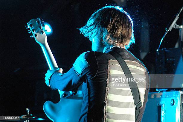 Tom DeLonge during Angels and Airwaves Perform at Bowery Ballroom at Bowery Ballroom in New York New York United States