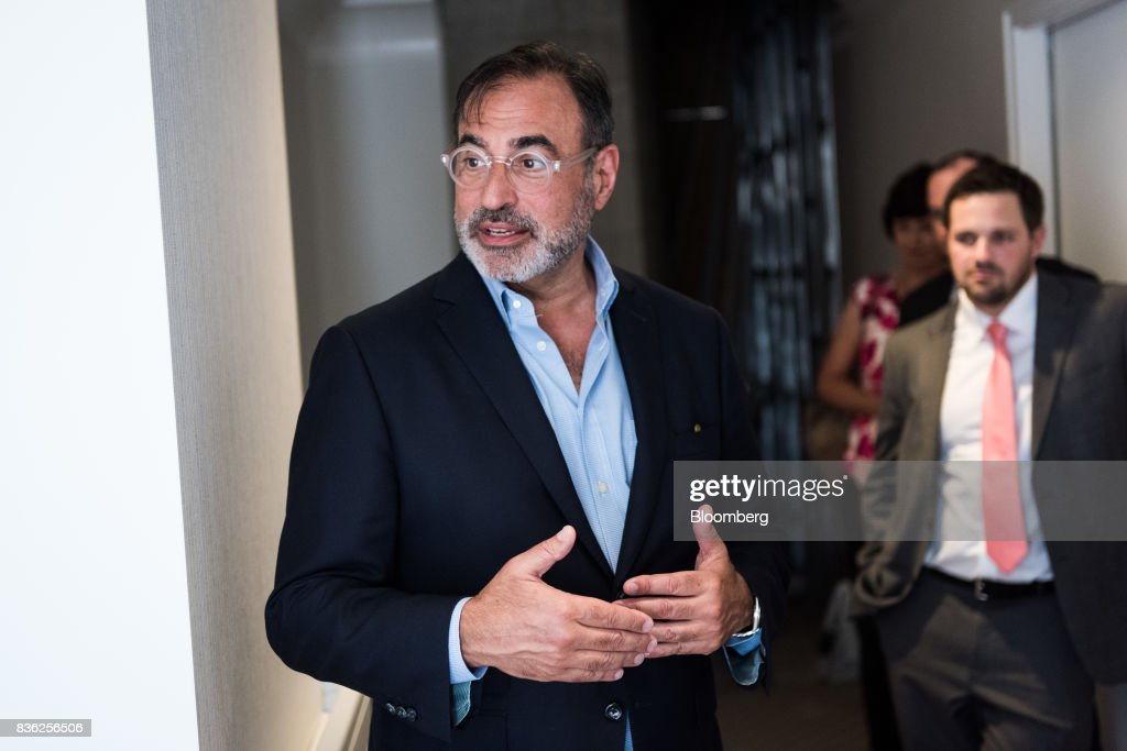 Tom DeRosa, chief executive officer of Welltower Inc., tours a mock Manhattan apartment for senior residents at an industrial area in the Queens borough of New York, U.S., on Thursday, June 29, 2017. Developers are spending hundreds of millions on high-end assisted-living apartment projects, one on the Upper East Side and one in Midtown, and aiming for more in the area and across the U.S. Photographer: Mark Kauzlarich/Bloomberg via Getty Images