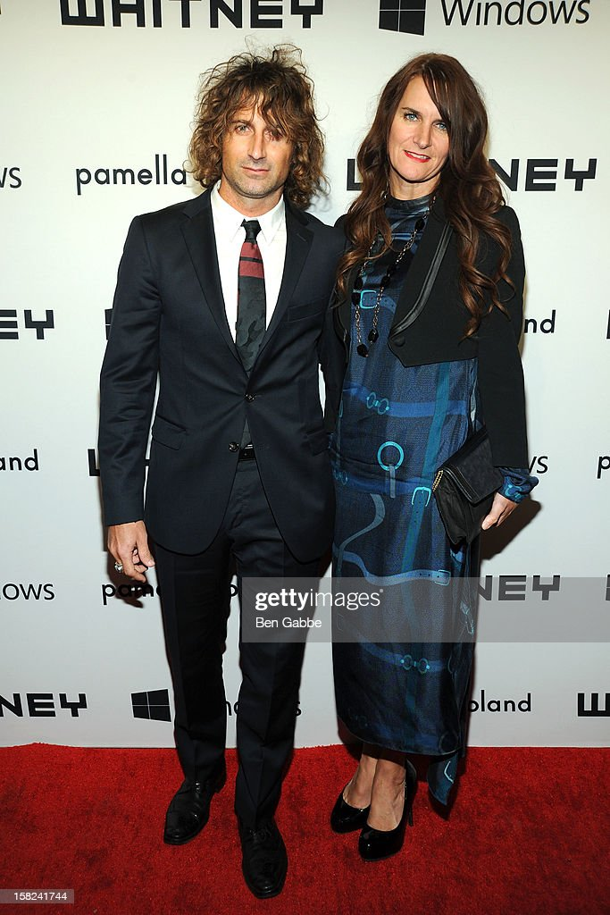 Tom DeSocio and wife Megan DeSocio attend Whitney Museum of American Art's 2012 Studio Party at The Whitney Museum of American Art on December 11, 2012 in New York City.