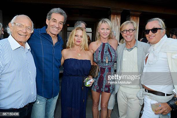 Tom Diane Tuft and Christina Cuomo Celebrate the Launch of Jay McInerney's New Novel Bright Precious Days at Private Residence on August 5 2016 in...
