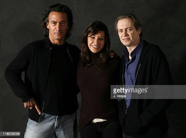 Tom DiCillo director Gina Gershon and Steve Buscemi