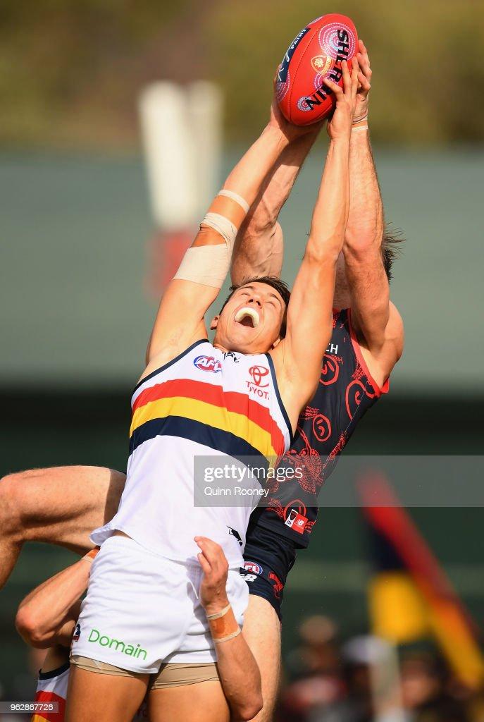 AFL Rd 10 - Melbourne v Adelaide