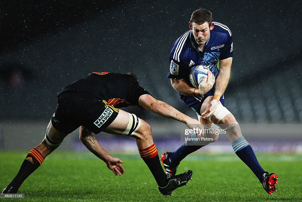 Super Rugby Rd 19 - Blues v Chiefs : News Photo