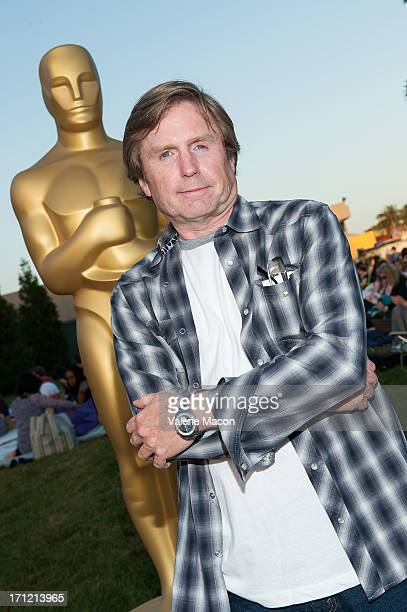 Tom Duffield attends The Academy Of Motion Picture Arts And Sciences' Oscars Outdoors Screening Of Beetlejuice on June 22 2013 in Hollywood California