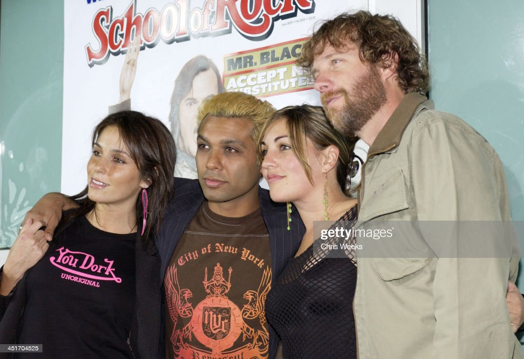 Tom Dumont and Tony Kanal of No Doubt with guests during World Premiere of School of Rock at Cinerama Dome in Hollywood, California, United States.