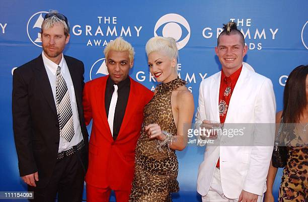 Tom Dumont, Tony Kanal, Gwen Stefani and Adrian Young of No Doubt