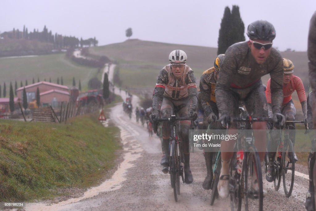 Tom Dumoulin from The Netherlands / Eroica / Siena - Siena (184km) on March 3, 2018 in Siena, Italy.