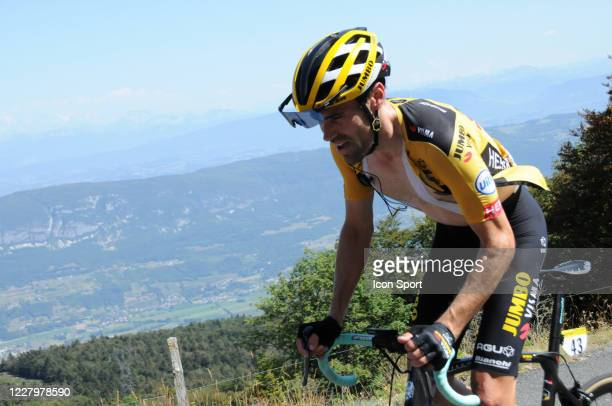 Tom Dumoulin of Jumbo - Visma. During the Tour de l'Ain - stage 3 from Saint Vulbas to Grand Colombier on August 9, 2020 in UNSPECIFIED, Unspecified.