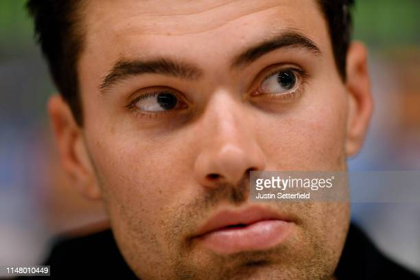 Tom Dumoulin of The Netherlands and Team Sunweb / during the 102nd Giro d'Italia 2019 - Team Sunweb Press Conference / Tour of Italy / #Giro /...