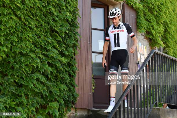 Tom Dumoulin of The Netherlands and Team Sunweb / during the 105th Tour de France 2018 / Training Team Sunweb / TDF / Rest day / on July 23 2018 in...