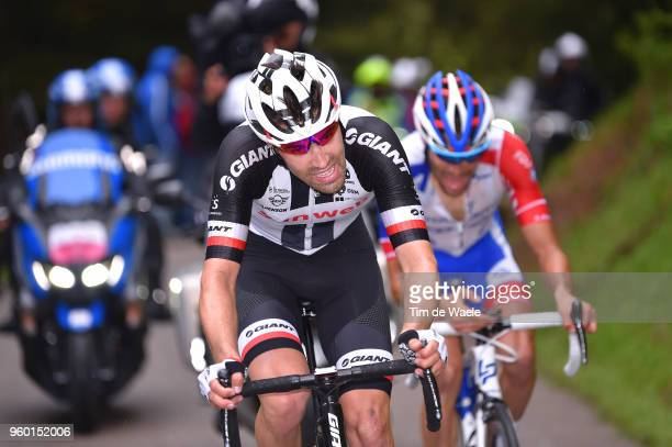 Tom Dumoulin of The Netherlands and Team Sunweb / Thibaut Pinot of France and Team Groupama-FDJ / during the 101st Tour of Italy 2018, Stage 14 a...