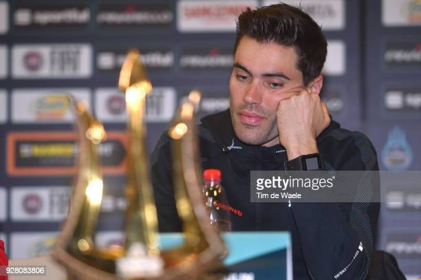 Tom Dumoulin of The Netherlands attends the 53rd TirrenoAdriatico 2017 / Press Conference on March 6 2018 in Tuscany Italy