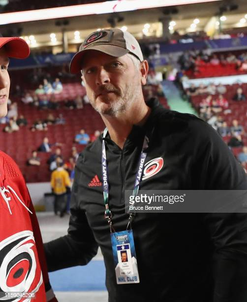 Tom Dundon of the Carolina Hurricanes attends the 2019 NHL Draft at the Rogers Arena on June 22 2019 in Vancouver Canada