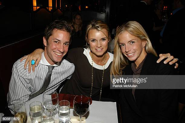 Tom Dunn Alison Aston and Meredith Melling Burke attend Friends in Deed Fall Benefit Honoring Elie and Rory Tahari at Balthazar on October 19 2006 in...