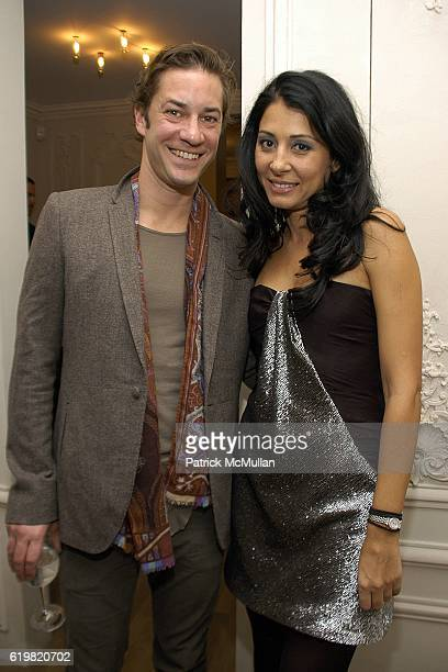 Tom Dunn and Aida Khoursheed attend Grand Opening of Jay Ahr at 801 Madison Ave on October 15 2008 in New York City