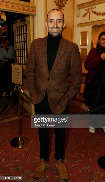 Tom Edden attends the press night performance of 'Ian McKellen On Stage' a special one man show celebrating his 80th birthday at Duke Of York's...