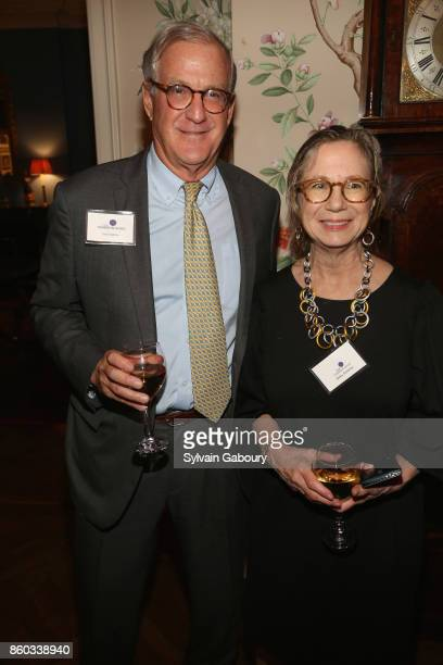 Tom Edelman and Betsy Seidman attend The Common Good proudly presents an intimate conversation with Admiral Mike Mullen former Chairman Joint Chiefs...